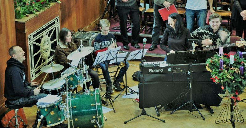 Some of Our Vastly Ace Band Members – Including our Soul Brothers Charlie (Long by name and Long on talent) and Andy.